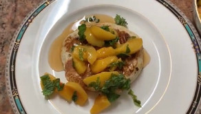 Pancake & Peaches Topping