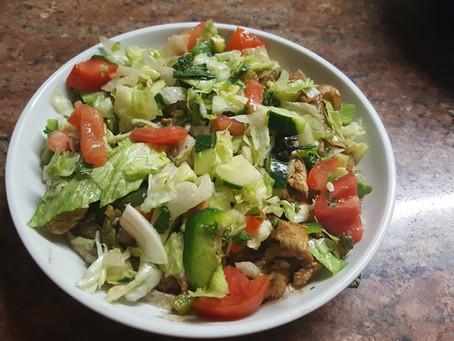 Baba Ganoush Chicken Salad