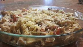 Chicken Cutlets & Cauliflower with Béchamel sauce