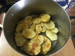 Add the potatoes in the pot