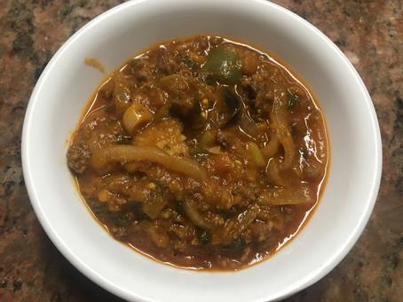 Marqat Baytinijan (Eggplant Stew)
