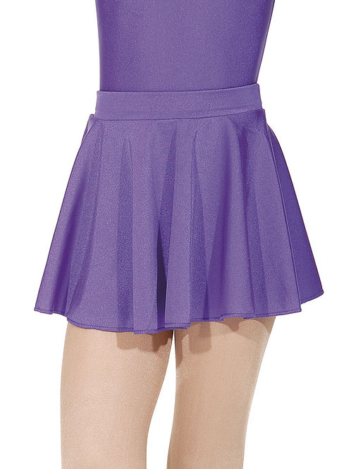 Nylon/Lycra Circular Short Skirt