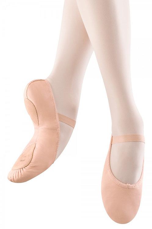 Leather Split Sole Ballet Shoes