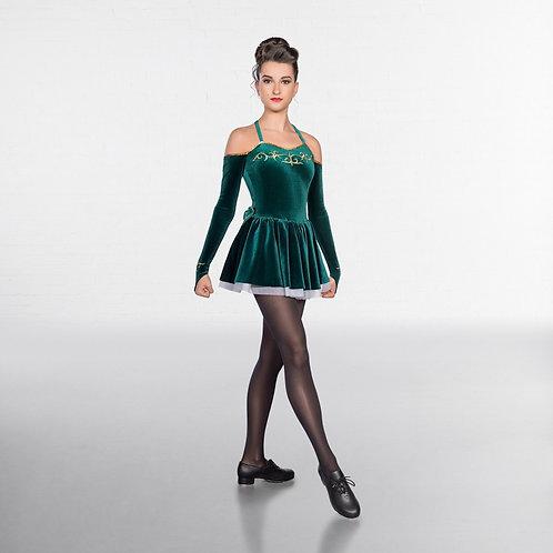 Irish Dance Dress Embroidered