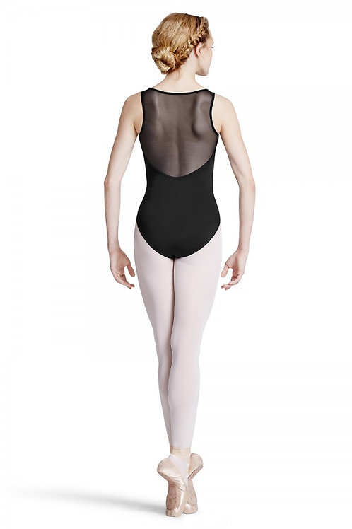 Bloch L7725 Pinituck Box Pleat Back Tank