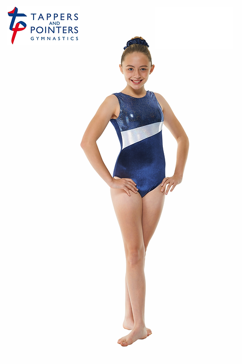 Gym/17 Velvet And Foil Leotard
