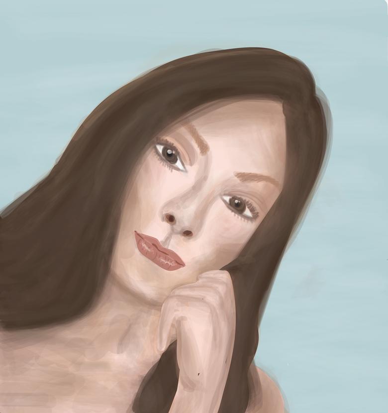 Brush Tool Self Portrait