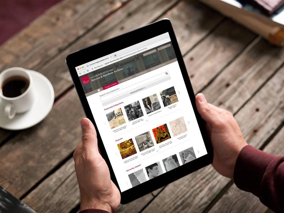 Art Museum Archival Website Redesign