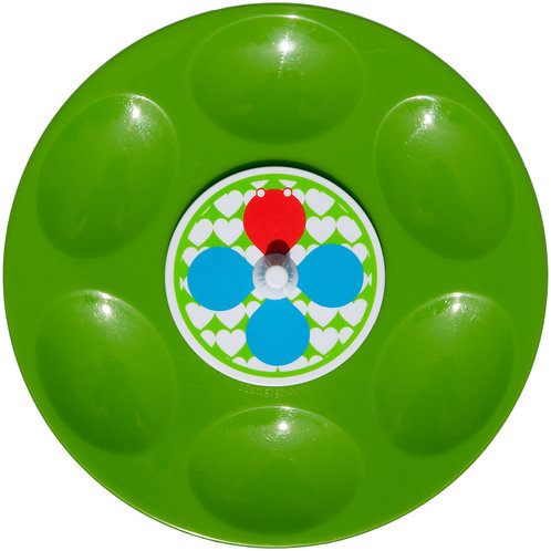 Mangigi draaischijfbordje groen
