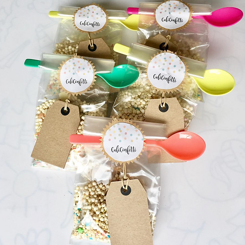 Graan & fruit confetti (quinoa, mango & spikkels)
