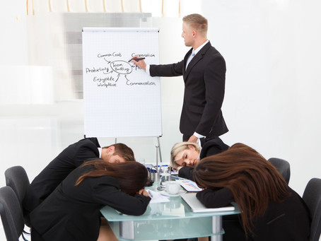 How to Kill Anyone with a Presentation (and Get Away with It!): Part 1—Disregard Your Audience!