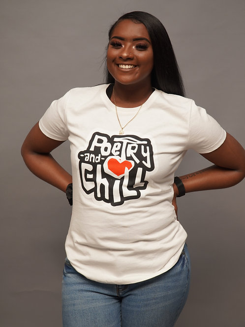 Poetry and Chill Women T-Shirt