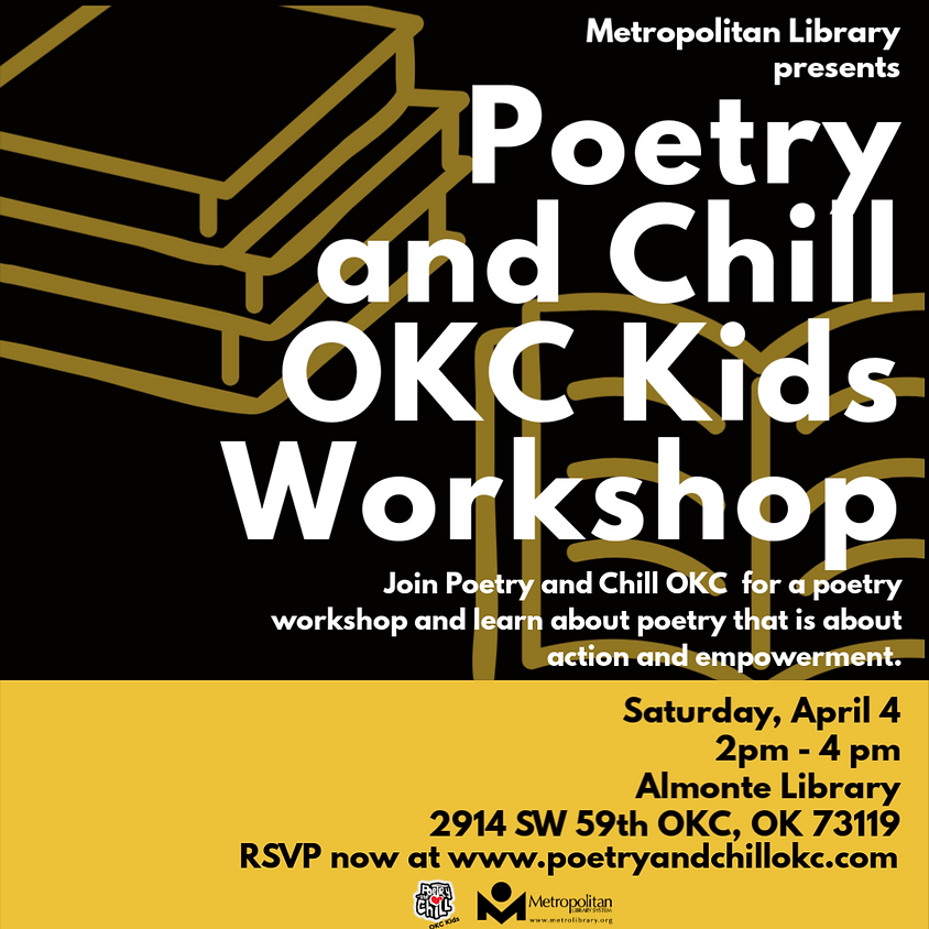 Poetry and Chill OKC Kids Workshop
