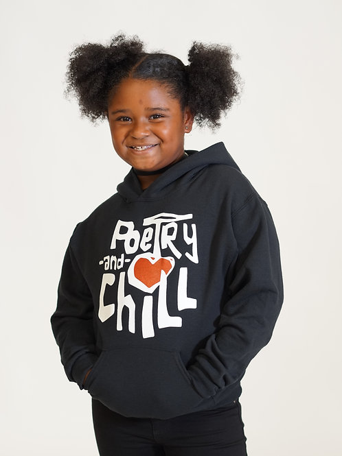 Poetry and Chill Youth Hoodie
