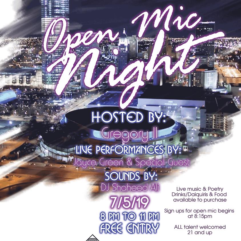Open Mic Night on 7/5