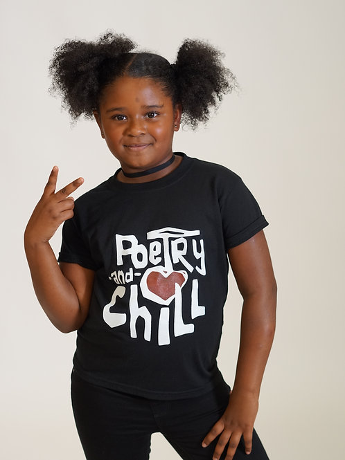 Poetry and Chill Youth T-Shirt