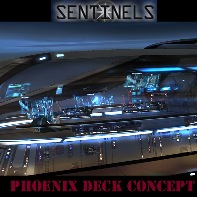 Deck of the Pheonix concept art