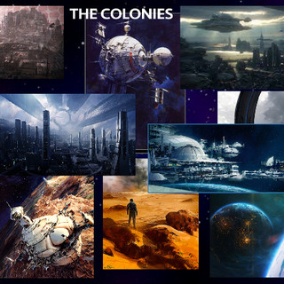 Colonies inspirational art