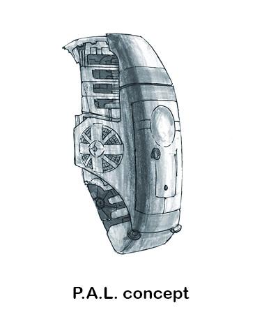 P.A.L. concept art