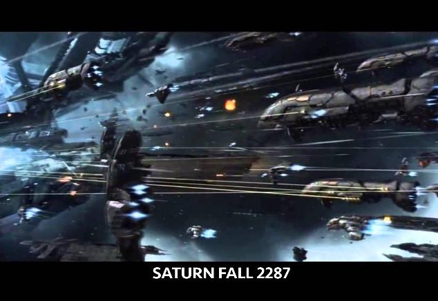 Saturnfall inspirational art