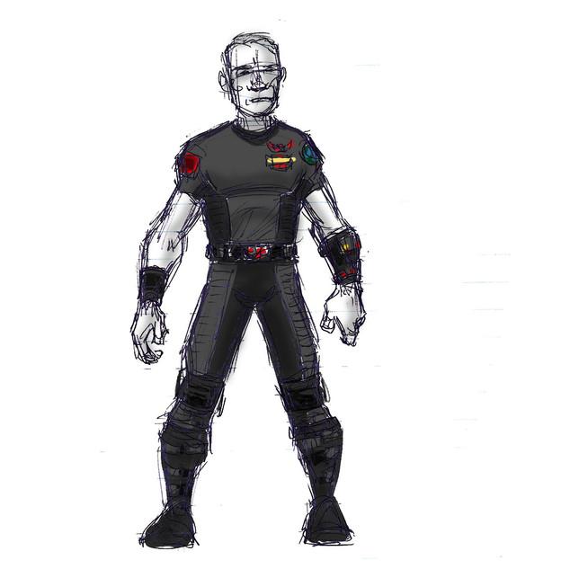 Standard male duty uniform