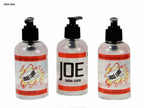 6.25 oz. - Jose Water Based Lube