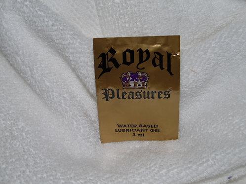 Royal Pleasure 3ml. Lube Foil