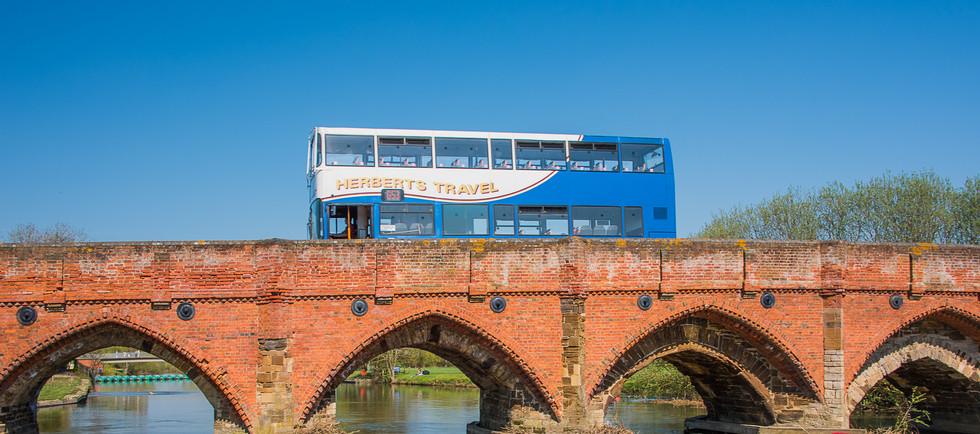 Bus in Bedford