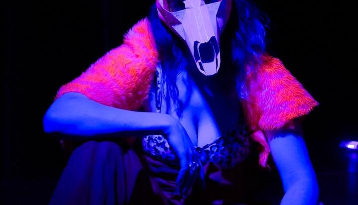 Erica Martin as Dionysus