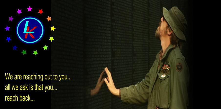 reflection at the Vietnam memorial wall