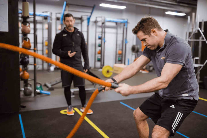 Socially Distanced Personal Training