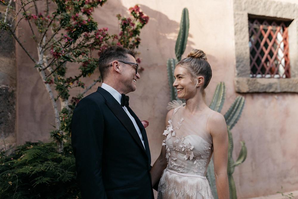 Beau + Eleanor - Sicily Destination Wedding - Hair & Makeup Ava Belle