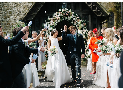 Real Wedding of Lauren & Fred                                 East Sussex, England