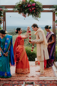 Indian Wedding Byron Bay - Ava Belle Hair and Makeup