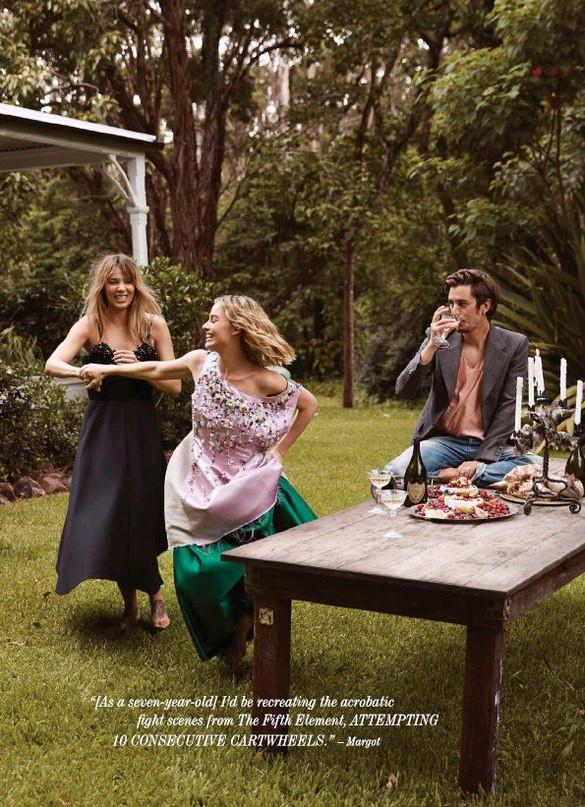Margot Robbie photographed for Harper's Bazaar Australia, March 2018