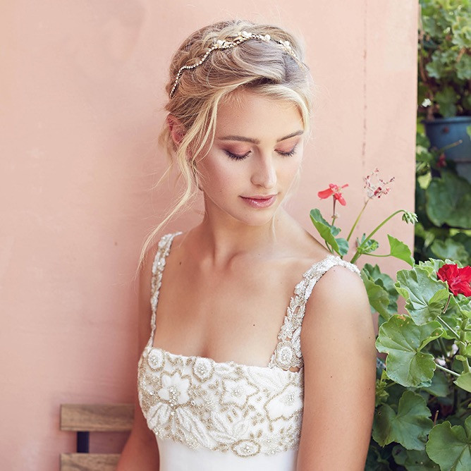 Ava Belle Braided Wedding Hair Style