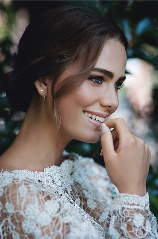 Stylized Bridal Beauty Shoot Amsterdam Anita Gates Bridal