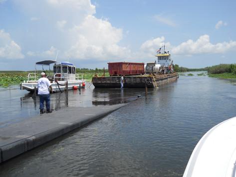 Barge Salvage Project - Venice, LA 2011