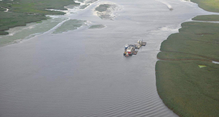 Mid-Gulf Transporting Quarter Barges
