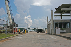 Coastal Crane on Site