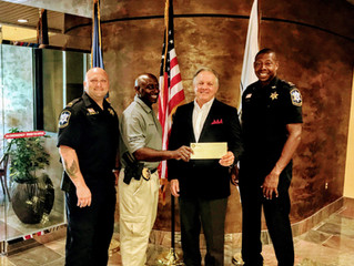LOCAL BUSINESS SUPPORTS ST.CHARLES PARISH SHERIFF'S OFFICE  21ST POLICE UNITY TOUR