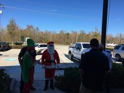 Santa Rounding Up HIs Troops