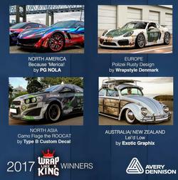 Wrap Like a King 2017 Finalists