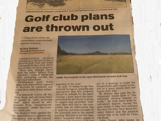 Bolton council planning reject plans to build on golf course