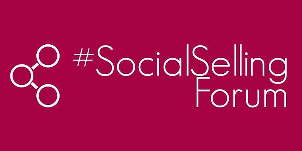 Jeannine A au Social Selling Forum