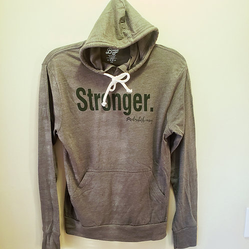 Stronger Lightweight T-Shirt Hoodie
