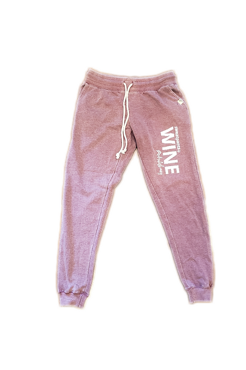 Sweatpants and Wine Joggers (Cranberry)