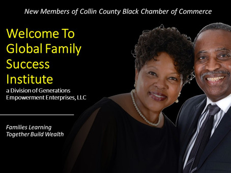 New Members of Collin County Black Chamber of Commerce