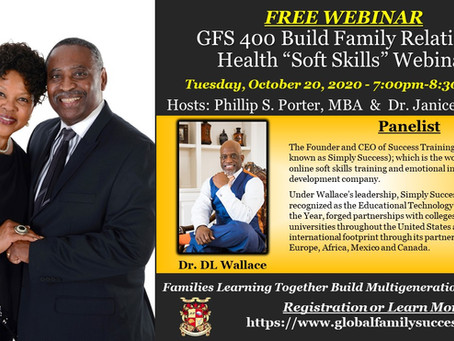 "Invitation To: FREE GFS 400 Build Family Relational Health ""Soft Skills"" Webinar"