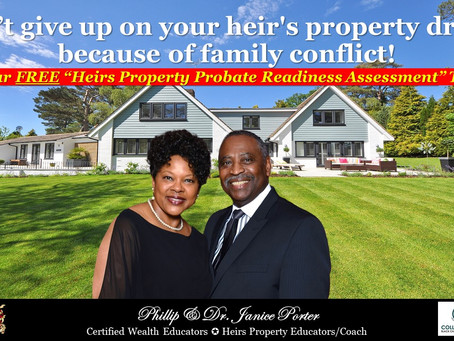Is Your Family Stressed Out & Not In Agreement With Your Heirs Property?